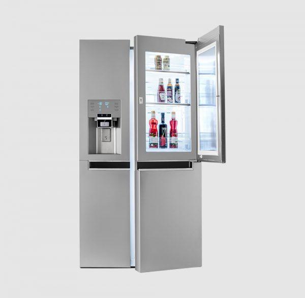 یخچال فریزر ساید بای ساید سه در دوو